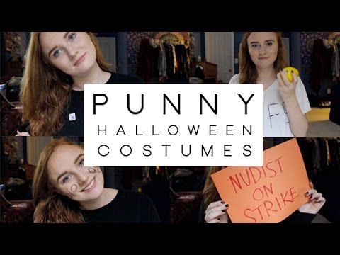 YouTube Premium  sc 1 st  YouTube & DIY | 5 LAST MINUTE QUICK u0026 EASY HALLOWEEN COSTUME IDEAS | For Pun ...