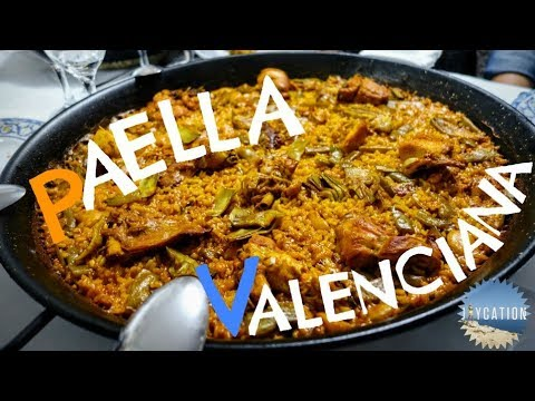 TRADITIONAL LAS FALLAS VALENCIA SPAIN FOOD TOUR | GREAT PAELLA VALENCIANA