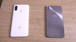 Xiaomi Mi8 vs Asus Zenfone 5Z - Speed Test!