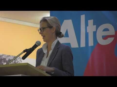 2017_08_31 Dr. Alice Weidel in Freising-Pfaffenhofen im Hotel Hallertau Teil 2: