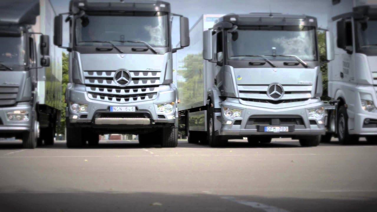 Mercedes Benz Truck Tour 2013