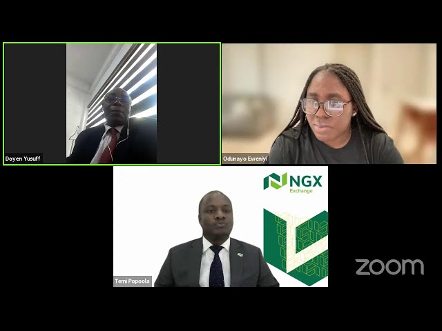 NGX RINGS THE BELL FOR FINANCIAL LITERACY