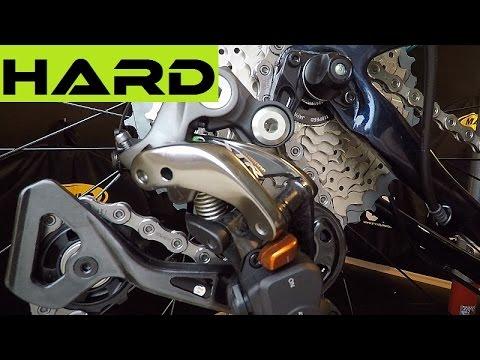 Shimano XTR RD-M9000 Rear Derailleur Clutch Adjustment For Better Shifting