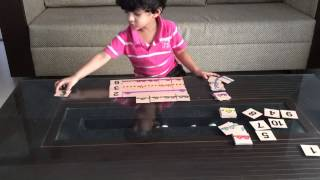 Moksh's Math Counting Game/ Matching Knot Patterns Puzzle & Counting Activity_part 7