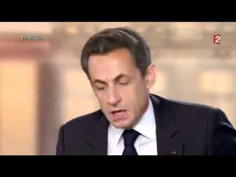 Exaltation de Nicolas Sarkozy lors de l