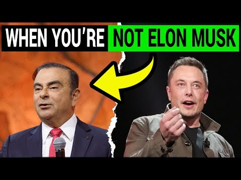 When You are NOT Elon Musk: Carlos Ghosn Gets Fired