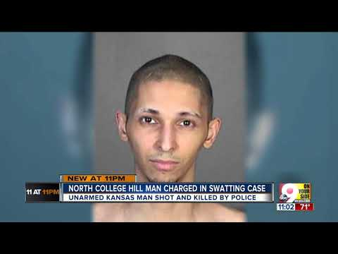 Cincinnati man charged in fatal 'swatting'