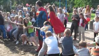 Киев: Детский праздник на Ленинградской площади, 18 мая 2014