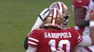 Jimmy G to Jeff Wilson for A Game-winning TD