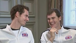 "Jamie Murray won't call his brother ""Sir"" if Andy gets a knighthood"
