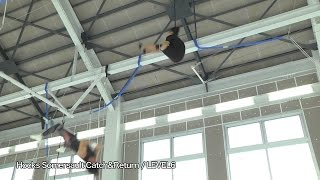 Fly'n Fit trapeze studio 日本初屋内空中ブランコ施設 旧)33LEVEL6 Hocks Somersault Catch&Return.