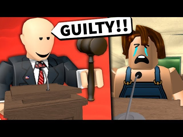 I was a JUDGE in a ROBLOX COURT CASE...