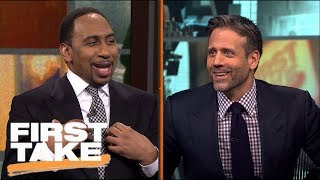 First Take's Odell Beckham Jr. Discussion Turns Into Heated Baseball Argument | First Take | ESPN thumbnail