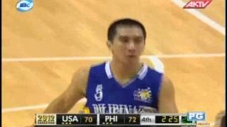 SMART GILAS VS USA 2012 JONES CUP