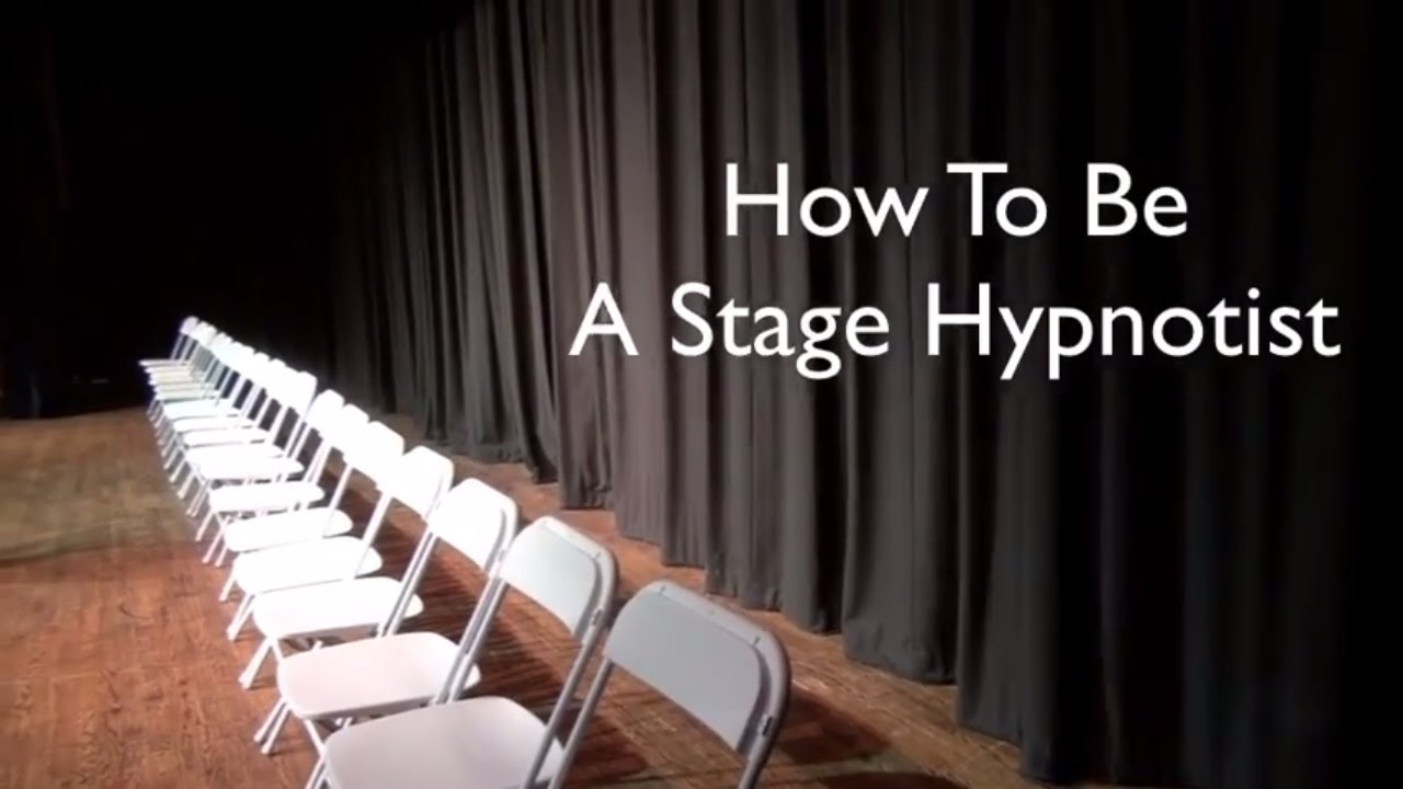 How to Be a Comedy Hypnosis - Comedy Stage Hypnotist Show ...  Stage Hypnosis