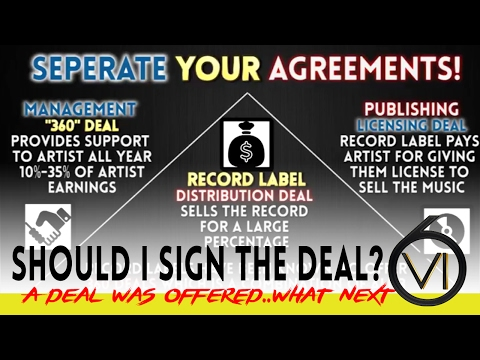 Ep. 18 - Should I Sign? Record, Independent, Manager, & Publishing Deals