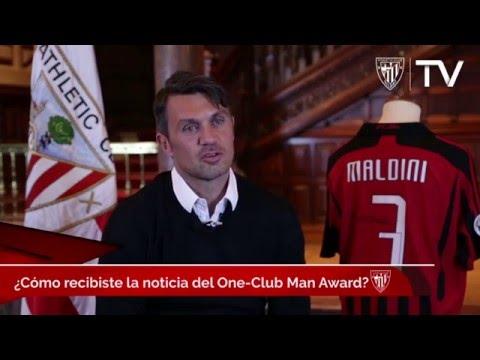 One Club Man Award: Intervista completa con Paolo Maldini