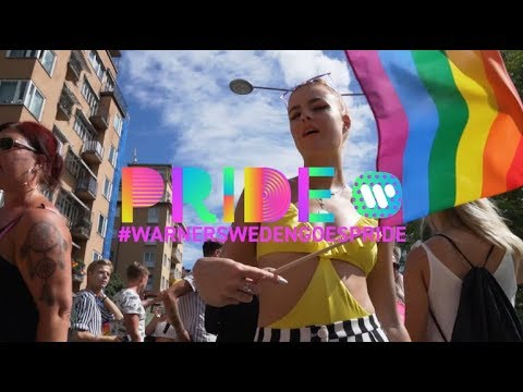 Warner Sweden Goes Pride 2018