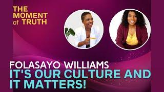 S1 E3 | Why Cultural Representation Matters with Folasayo Williams