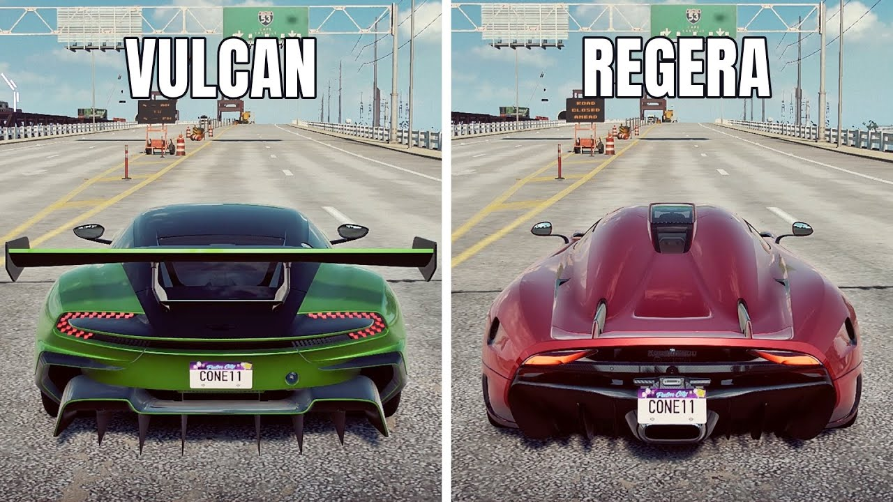 NFS Heat: REGERA VS VULCAN (WHICH IS FASTEST?)
