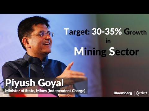 Mines Minister Piyush Goyal​: Mining to add 1% to India's GDP over 2 to 3 years