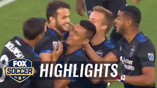 San Jose Earthquakes vs. Philadelphia Union | 2017 MLS Highlights