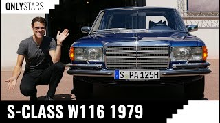 Driving the vintage Mercedes S-Class ! A dream W116 350 SE V8 from 1979 - OnlyStars Mercedes reviews