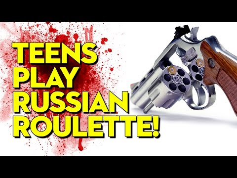 Russian roulette knife game gone wrong
