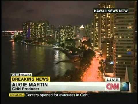 Hawaii Tsunami Warning (October 27-28, 2012)
