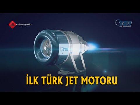 İlk Türk Jet Motoru TEİ TJ-90