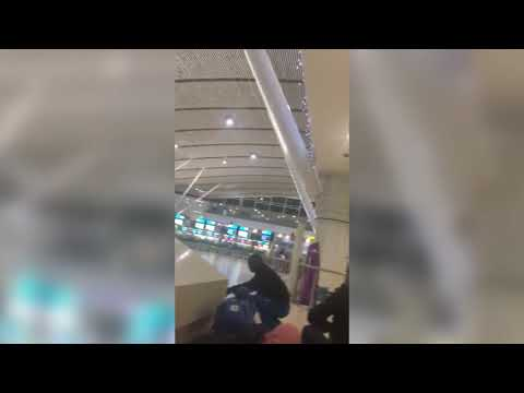 Cape Town International Airport shooting caught on camera