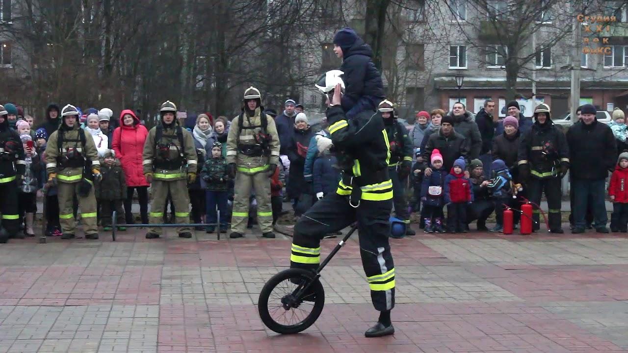 Александр Поляков, пожарный-эквилибрист из Всеволожска