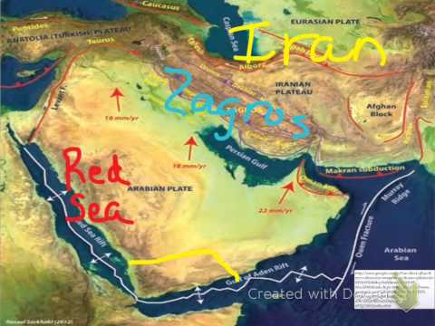The Physical Geography of the Arabian Peninsula
