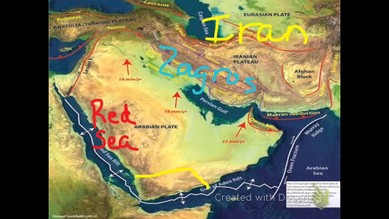 The Physical Geography of the Arabian Peninsula - YouTube