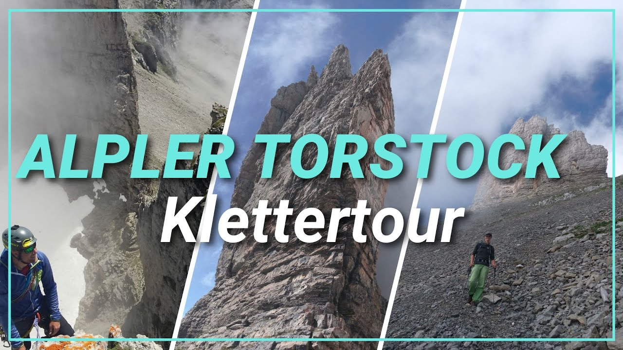 🧗♂️ Klettern am monumentalen Alpler Torstock, Kanton Uri [4K]