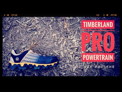 46a2d65d53 TIMBERLAND PRO POWERTRAIN SPORT ALLOY TOE SD+ [ The Boot Guy Reviews ] -  YouTube