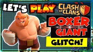 Boxer Giant GLITCH in Clash Of Clans Builder Base! | 6th Anniversary CoC Update! Birthday Games 2019