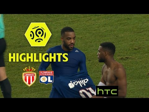 AS Monaco - Olympique Lyonnais (1-3) - Highlights - (ASM - OL) / 2016-17