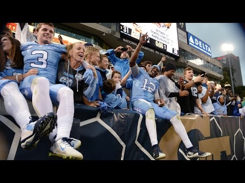 UNC Football: Heels Comeback Against Georgia Tech, 38-31