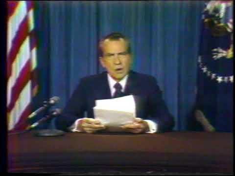 Nixon Resigns The Presidency August 8, 1974