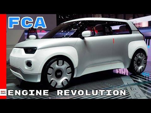 FCA Fiat Jeep Alafa Romeo Engine Revolution