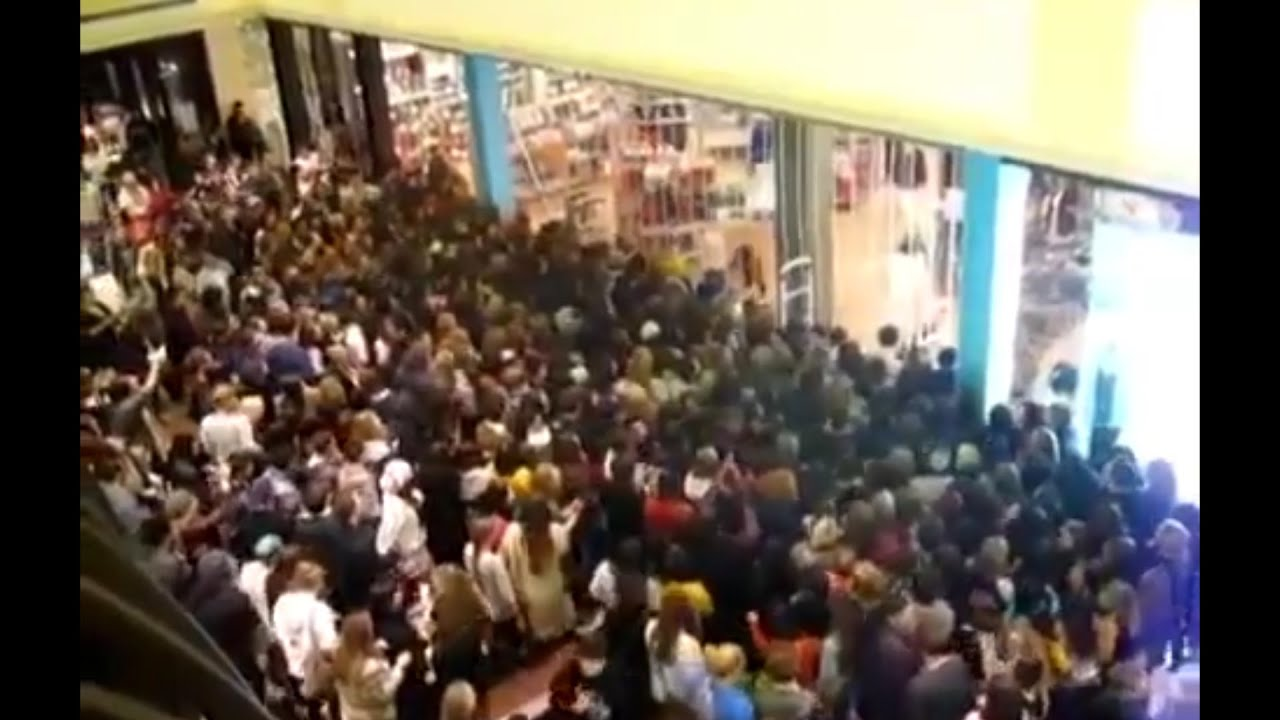 The Black Friday Stampede Supercut: 2014 - YouTube