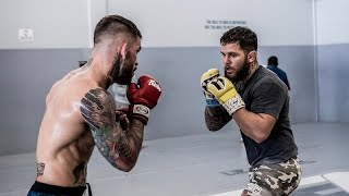 ROAD TO #UFC235 | EP5 - MMA Sparring with Team Alpha Male and Kai's First HAIRCUT!!