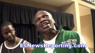 floyd mayweather sr talks to robert garcia about roach - EsNews boxing