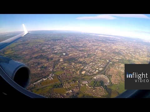 ATC: Beautiful Approach and Landing into Glasgow | Flybe E175