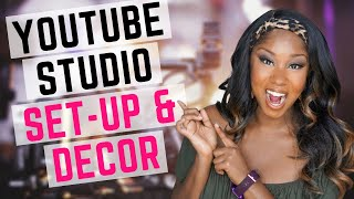 HOW TO DECORATE YOUR YOUTUBE FILMING ROOM | Filming set-up & Equipment