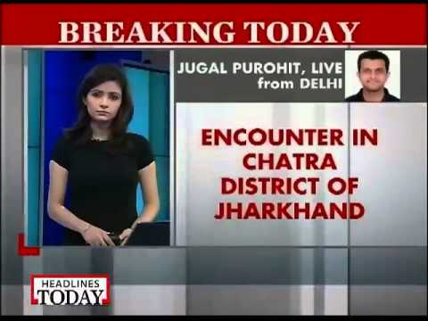 15 Maoists killed in encounter with CRPF in Jharkhand jungle-1