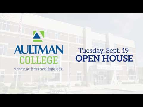 Aultman College Sept. 19 Open House