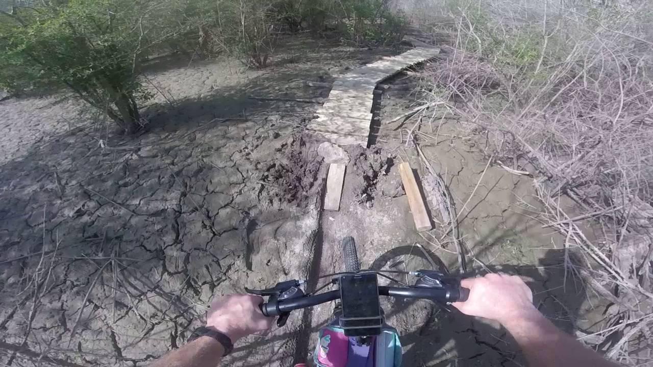 New bridge three miles in on the Knob Hills Trail 1 06