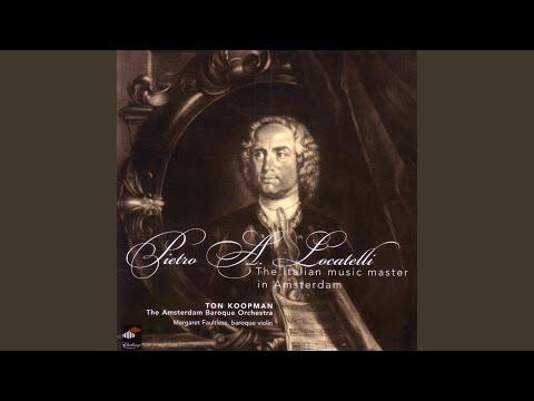 Introduzione Teatrale Op. 4 No. 4 (1735) : Presto
